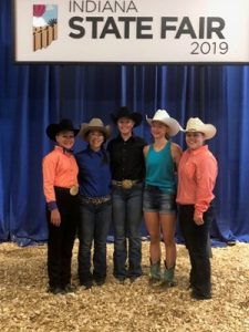 Indiana State Fair Western Horse and Pony results for